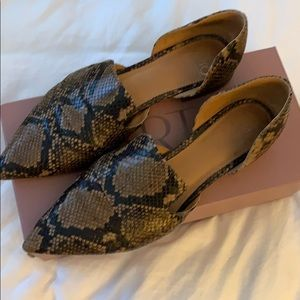 Franco Sarto A-Toby Taupe LE size 10 M